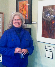 November's Featured Artist, our very own Dona McCloskey!